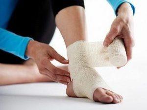 Bong gân hay trật khớp chữa trị bằng đông y